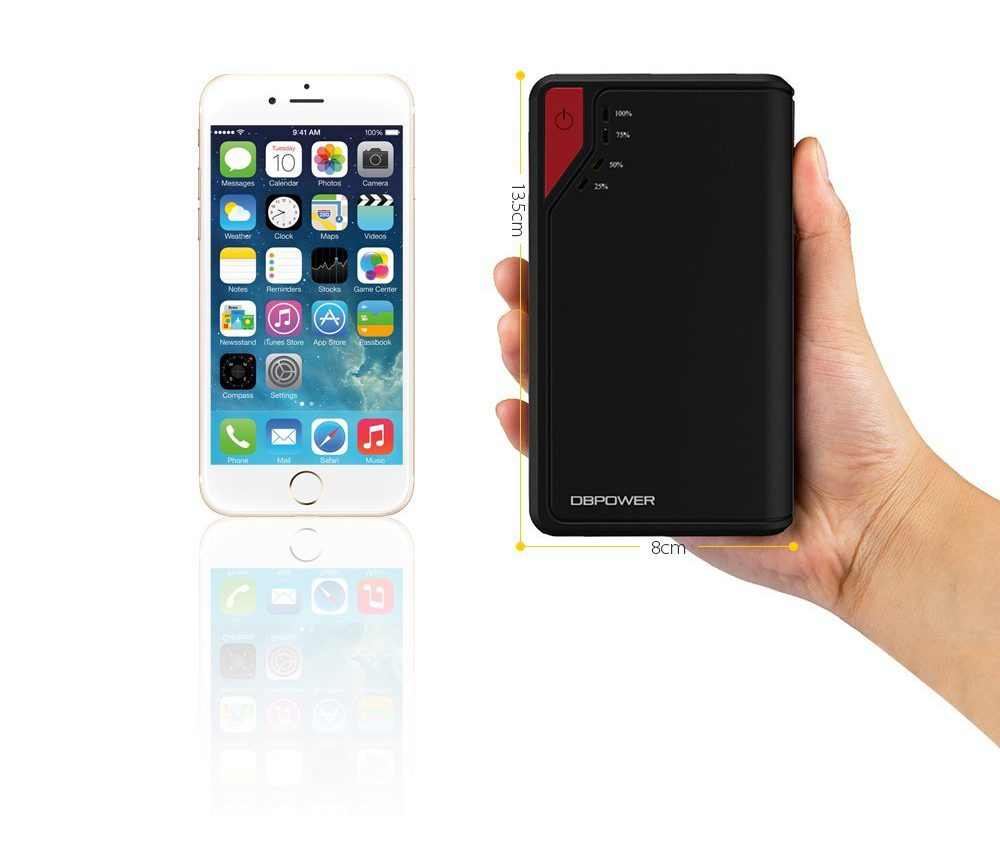 Pocket Car Jump Starter! – Also Recharges Your Phone